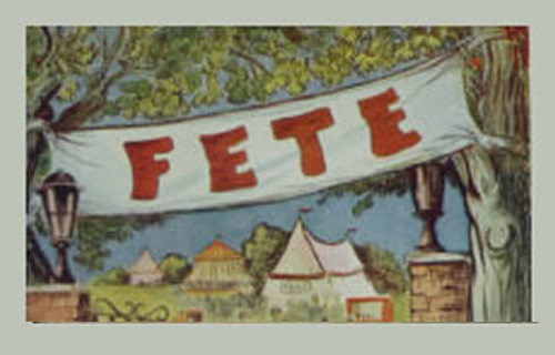 village fete period drawing