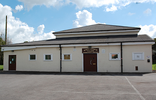 photo of the village hall